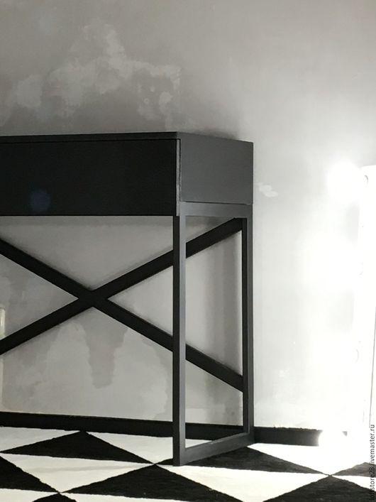 Мебель ручной работы. Ярмарка Мастеров - ручная работа. Купить Стол URBAN. Handmade. Черный, купить стол, мебель из металла