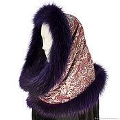 Аксессуары handmade. Livemaster - original item Snood with fur trimming