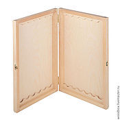 Материалы для творчества handmade. Livemaster - original item 1365 Backgammon blank 39 23 4 free chips. Handmade.