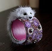 Украшения handmade. Livemaster - original item Bracelet of Guardian of mink, mink bracelet, charm bracelet, mink. Handmade.