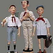 Куклы и игрушки ручной работы. Ярмарка Мастеров - ручная работа Пионерское детство моё. Handmade.