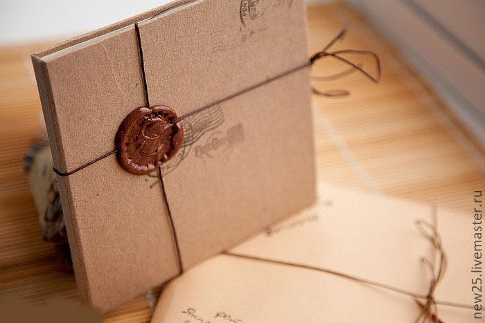 Сургуч упаковка подарков 17
