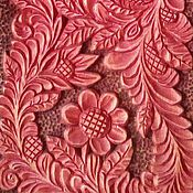 Для дома и интерьера ручной работы. Ярмарка Мастеров - ручная работа Доска для резки деревянная резная Цветочек аленький. Handmade.