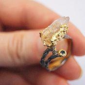 Украшения ручной работы. Ярмарка Мастеров - ручная работа кольцо гора Солнца. Handmade.