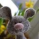 Игрушки животные, ручной работы. Ярмарка Мастеров - ручная работа. Купить Мышка для Марии. Handmade. Серый, веселая игрушка