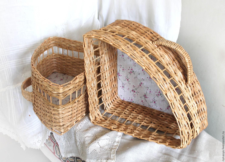 corner wicker storage baskets