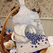 Для дома и интерьера handmade. Livemaster - original item Board Blueberry miracle. Handmade.