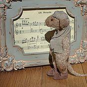 Куклы и игрушки handmade. Livemaster - original item Teddy-rat Alex. Handmade.