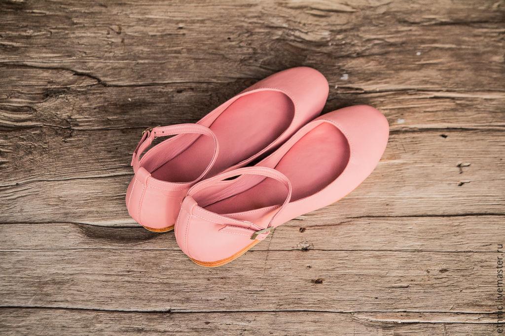 Ballet flats leather, Ballet flats, Chelyabinsk,  Фото №1