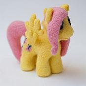 Куклы и игрушки ручной работы. Ярмарка Мастеров - ручная работа Флаттершай. Handmade.
