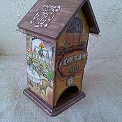 """Для дома и интерьера ручной работы. Ярмарка Мастеров - ручная работа Чайный домик """" Кафе"""". Handmade."""