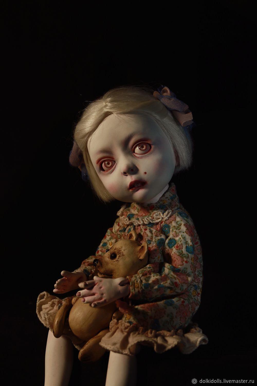 РЕЗЕРВ. кукла ручной работы Ксюша, Шарнирная кукла, Дзержинский,  Фото №1