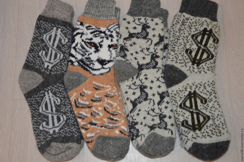 Носки с узорами фото