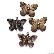 handmade. Livemaster - original item Pendants Butterfly Vintaj 2. Handmade.