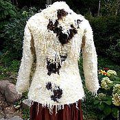 """Одежда ручной работы. Ярмарка Мастеров - ручная работа Пальто из войлока  """"Вершины гор"""". Handmade."""