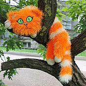 Куклы и игрушки ручной работы. Ярмарка Мастеров - ручная работа Кот рыжий. Вискас. Handmade.