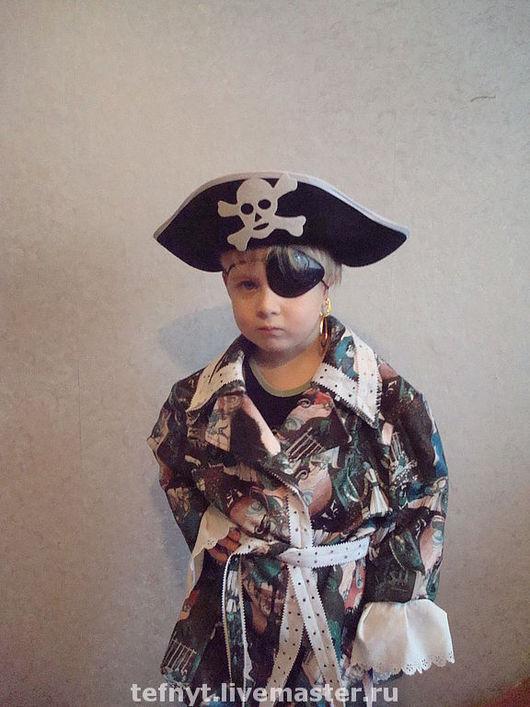 Детские карнавальные костюмы ручной работы. Ярмарка Мастеров - ручная работа. Купить Самый стильный пиратик. Handmade. Пират