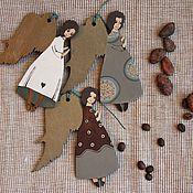 Подарки к праздникам ручной работы. Ярмарка Мастеров - ручная работа Ангелы шоколадные. Handmade.