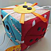 Развивающий кубик для детей Радуга