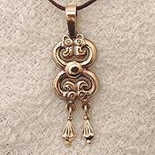 Украшения handmade. Livemaster - original item Pendant,pendant Scythian double-Headed Griffin. Handmade.