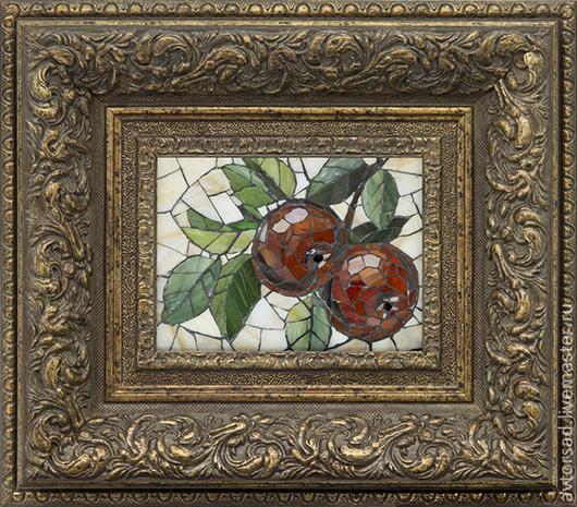 """Натюрморт ручной работы. Ярмарка Мастеров - ручная работа. Купить Картина """"Яблочки"""". Handmade. Подарок на 8 марта, картина в подарок"""