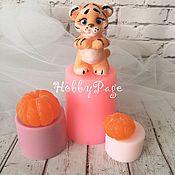 Материалы для творчества handmade. Livemaster - original item A set of three silicone Tiger Cub molds is worth. Handmade.