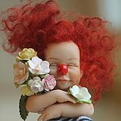 """Куклы и игрушки handmade. Livemaster - original item """"Flora"""". Handmade."""