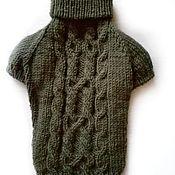 Одежда для питомцев ручной работы. Ярмарка Мастеров - ручная работа Свитер для собак. Handmade.