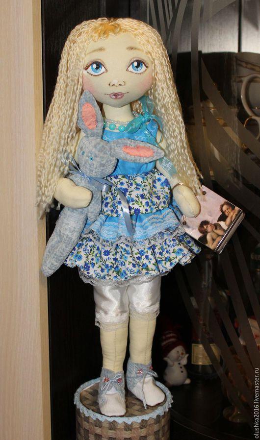 Коллекционные куклы ручной работы. Ярмарка Мастеров - ручная работа. Купить интерьерная текстильная кукла. Handmade. Интерьерная кукла, комбинированный