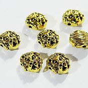 Материалы для творчества handmade. Livemaster - original item Divider for lion beads, gold rhodium plating. pc. Handmade.