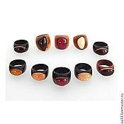 Украшения handmade. Livemaster - original item A ring of natural wood. Handmade.
