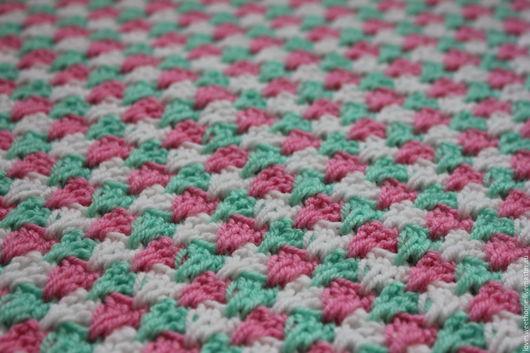 """Текстиль, ковры ручной работы. Ярмарка Мастеров - ручная работа. Купить Плед """"Весеннее настроение"""". Handmade. Комбинированный, плед для новорожденного"""