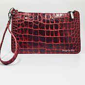 Сумки и аксессуары handmade. Livemaster - original item clutch bag of genuine leather. Handmade.