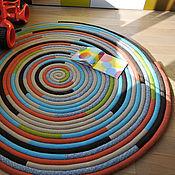 """handmade. Livemaster - original item Carpet """"Spiral"""". Handmade."""