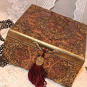 Шкатулка для украшений Ар-деко подарок женщине