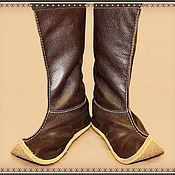 Обувь ручной работы. Ярмарка Мастеров - ручная работа Монгольские сапоги. Handmade.