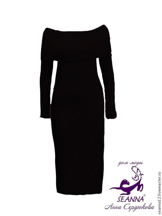 """Платья ручной работы. Ярмарка Мастеров - ручная работа. Купить Платье вязаное из кашемира с шерстью """"Роскошная Красавица"""" все размеры. Handmade."""