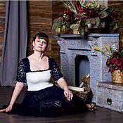 Одежда ручной работы. Ярмарка Мастеров - ручная работа Ажурное платье Мечта. Handmade.