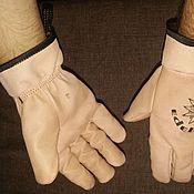 Одежда ручной работы. Ярмарка Мастеров - ручная работа Перчатки альпинистские кожаные. Handmade.