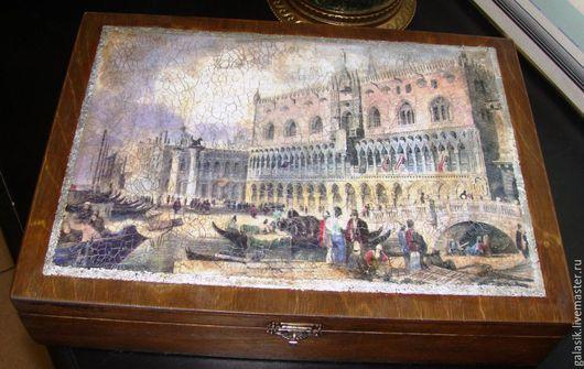Старинная гравюра из Венеции