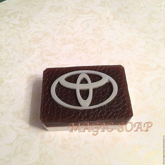 Мыло ручной работы. Ярмарка Мастеров - ручная работа. Купить мыло Логотип Тойота. Handmade. Комбинированный, мыло в новокузнецке