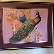 handmade. Livemaster - original item Picture in pastel frame