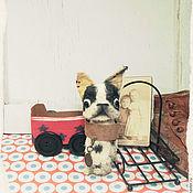 Куклы и игрушки ручной работы. Ярмарка Мастеров - ручная работа ONLY KINGS Boston Terrier 382. Handmade.