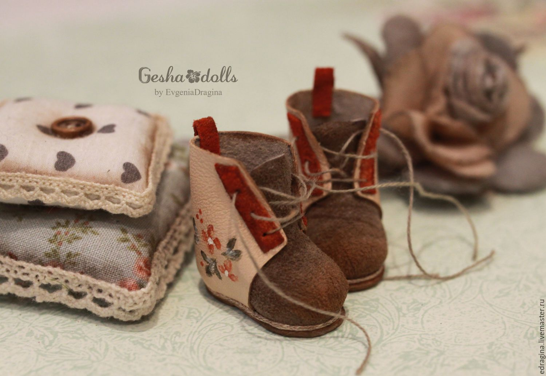 Ботинки куклам мастер класс