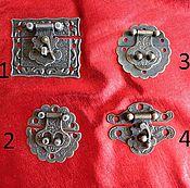 Замок для шкатулки (4 вида)