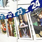 Атрибутика ручной работы. Ярмарка Мастеров - ручная работа Гирлянда «12 месяцев» с фотографиями. Handmade.