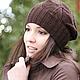 Шоколад, шоколадный, корица, коричневый, шапка шарф, комплект шапка, шапки зимние, шапка для девочки, шапка детская, шапочка для девочки, модная шапка, шапка берет