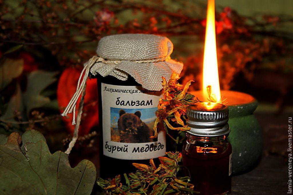 Бальзам Бурый медведь, Масла, Майкоп,  Фото №1
