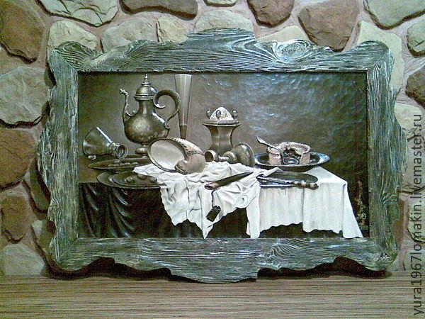 "Картина из дерева ""Натюрморт"", Картины, Скопин, Фото №1"
