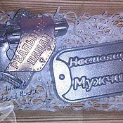"""Косметика ручной работы. Ярмарка Мастеров - ручная работа Подарочный набор """"Настоящий мужчина"""". Handmade."""